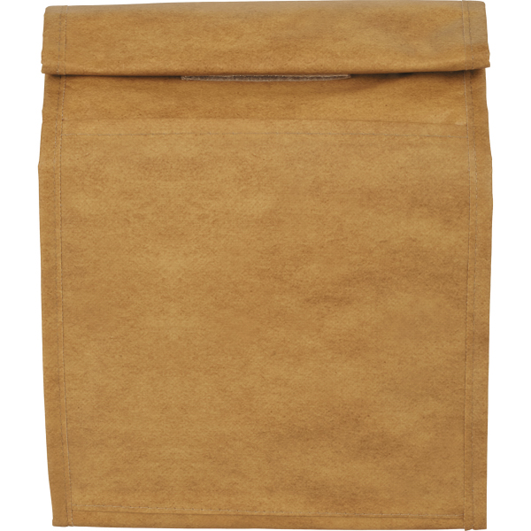 Brown Paper Bag 6 Can Lunch Cooler Color Graphics