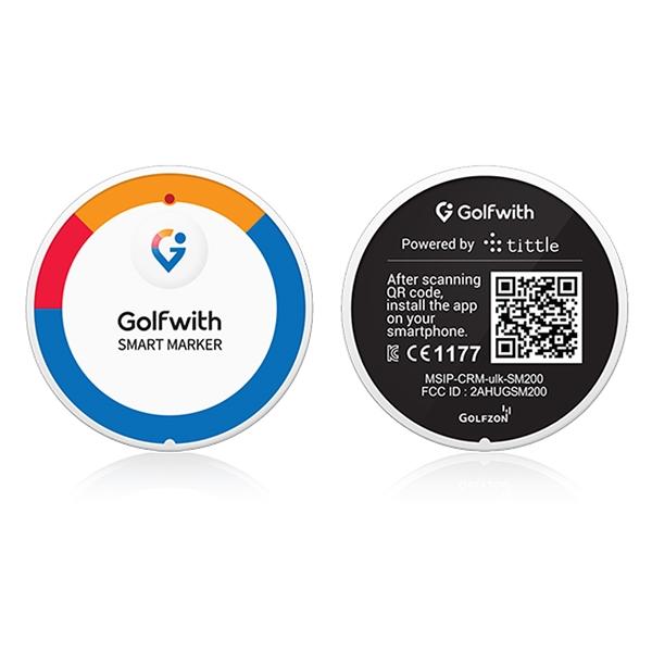 Smart Marker - GPS Golf Tracker & Ball Marker | Color